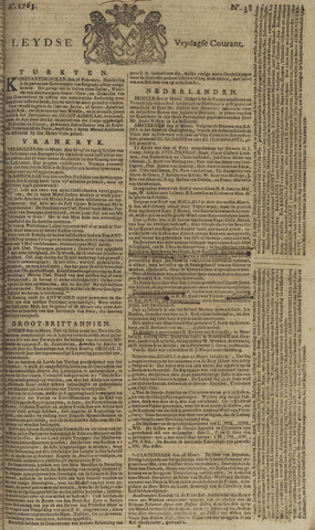 Leydse Courant 1765-03-29