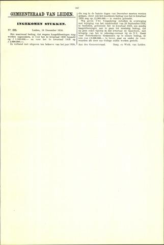 Handelingen van de Raad 1938-12-16