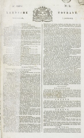 Leydse Courant 1838-01-03