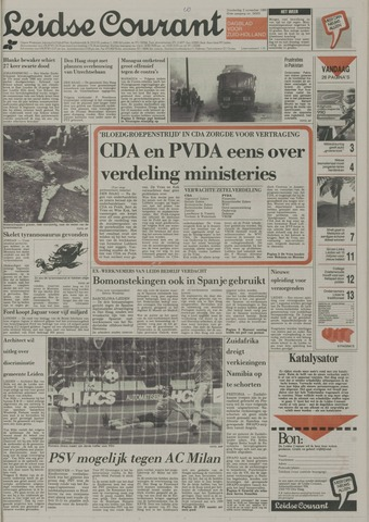 Leidse Courant 1989-11-02