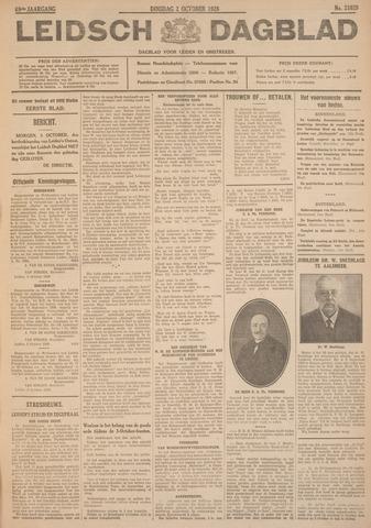 Leidsch Dagblad 1928-10-02