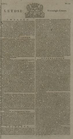 Leydse Courant 1725-11-28
