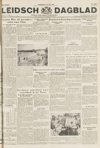 Leidsch Dagblad 1954-07-29
