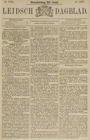 Leidsch Dagblad 1885-06-25