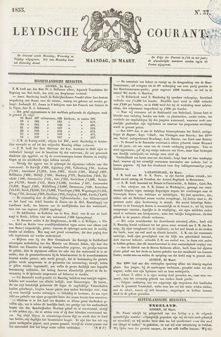 Leydse Courant 1855-03-26