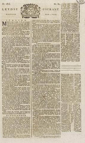 Leydse Courant 1815-07-05