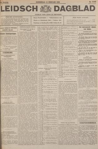 Leidsch Dagblad 1930-02-13