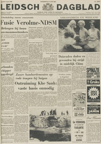 Leidsch Dagblad 1968-06-27