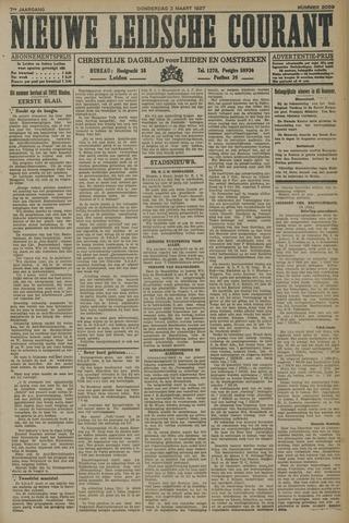 Nieuwe Leidsche Courant 1927-03-03
