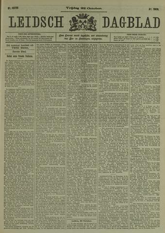 Leidsch Dagblad 1909-10-22