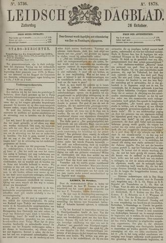 Leidsch Dagblad 1878-10-26