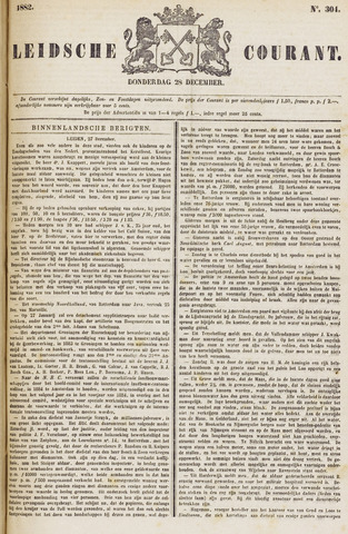 Leydse Courant 1882-12-28