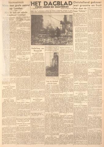 Dagblad voor Leiden en Omstreken 1944-02-25