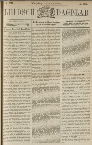 Leidsch Dagblad 1885-10-23