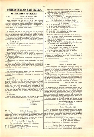 Handelingen van de Raad 1909-12-14
