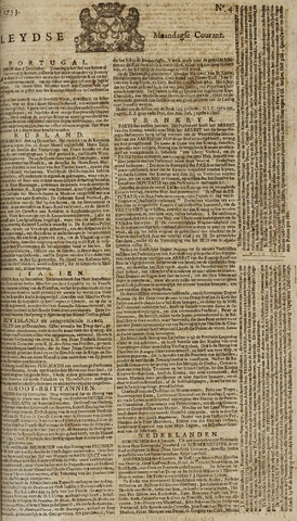 Leydse Courant 1753-01-08