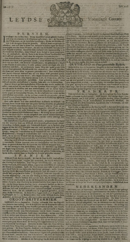 Leydse Courant 1729-09-28