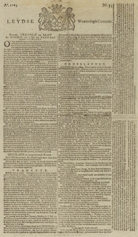 Leydse Courant 1763-05-04