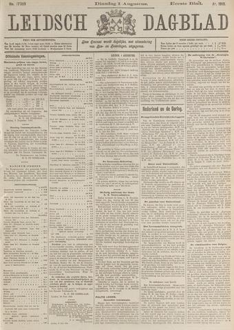 Leidsch Dagblad 1916-08-01