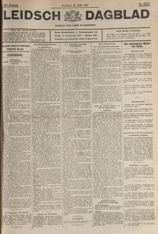 Leidsch Dagblad 1933-06-23
