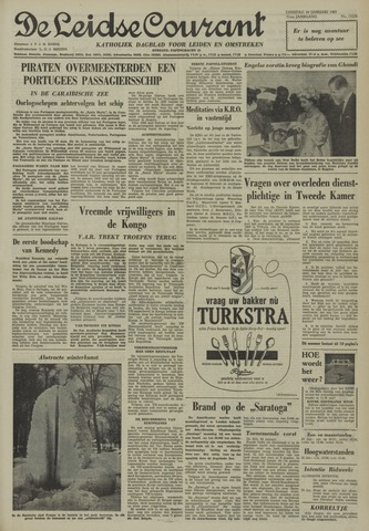 Leidse Courant 1961-01-24