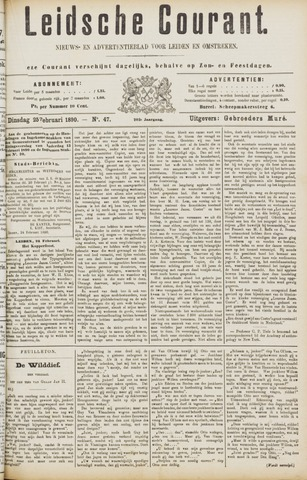 Leydse Courant 1890-02-25