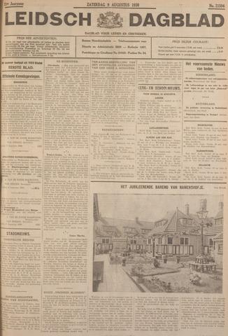 Leidsch Dagblad 1930-08-09