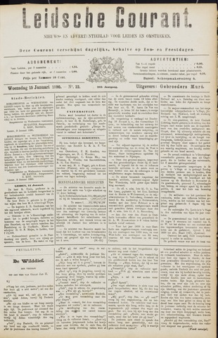 Leydse Courant 1890-01-15