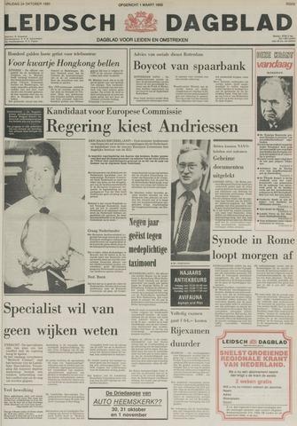 Leidsch Dagblad 1980-10-24