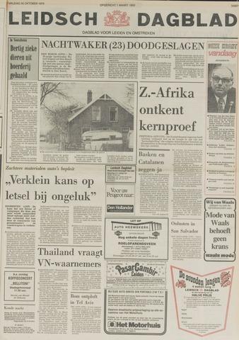 Leidsch Dagblad 1979-10-26