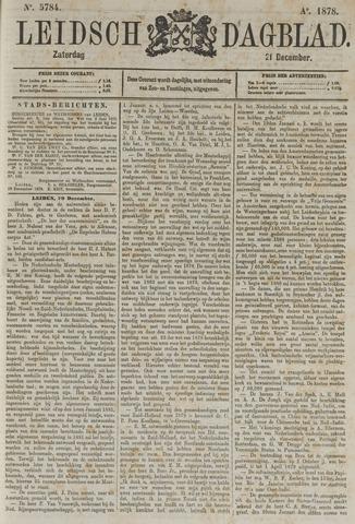 Leidsch Dagblad 1878-12-21