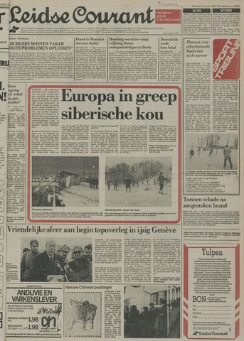 Leidse Courant 1985-01-07