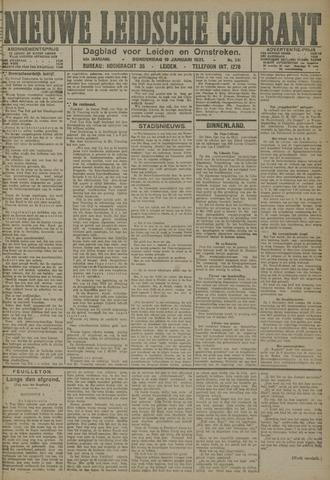Nieuwe Leidsche Courant 1921-01-13