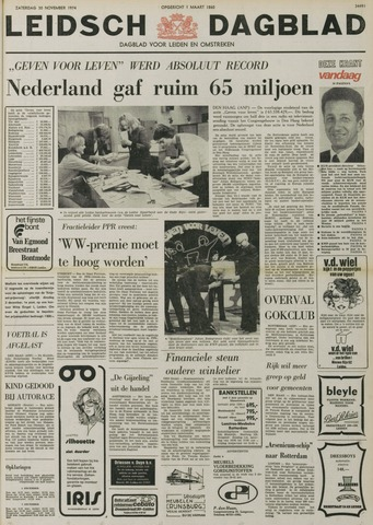 Leidsch Dagblad 1974-11-30