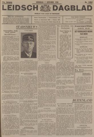Leidsch Dagblad 1938-09-07