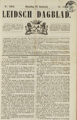 Leidsch Dagblad 1864-01-25