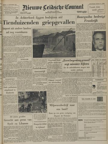 Nieuwe Leidsche Courant 1957-09-13