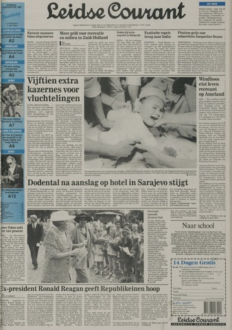 Leidse Courant 1992-08-18