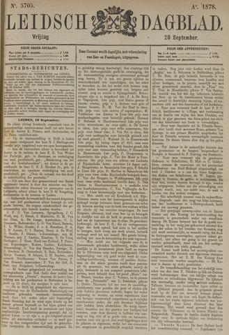 Leidsch Dagblad 1878-09-20