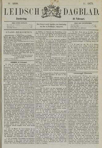 Leidsch Dagblad 1875-02-18
