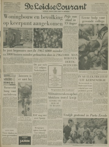 Leidse Courant 1966-08-05