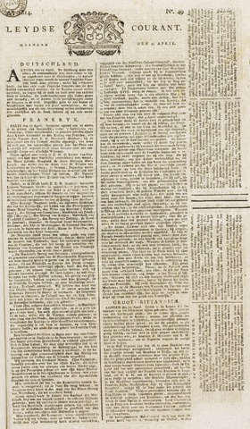 Leydse Courant 1814-04-25