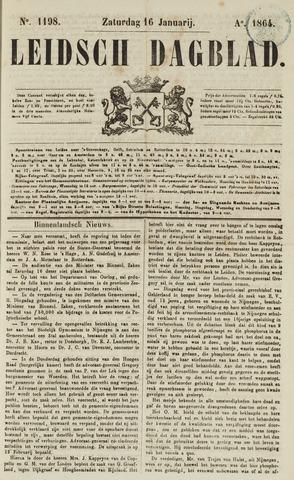 Leidsch Dagblad 1864-01-16