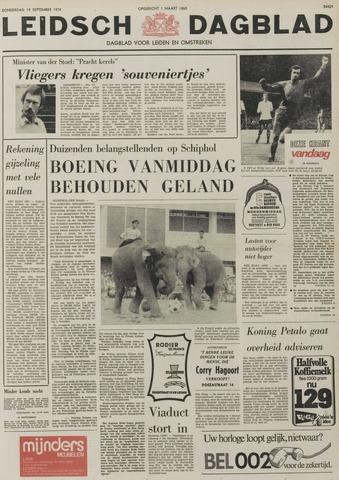 Leidsch Dagblad 1974-09-19