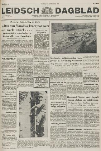 Leidsch Dagblad 1955-08-19