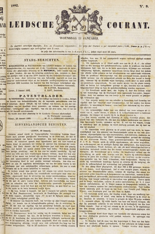 Leydse Courant 1882-01-11