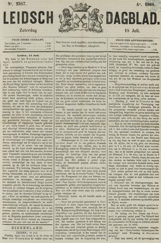 Leidsch Dagblad 1868-07-18
