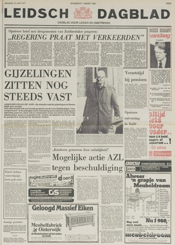 Leidsch Dagblad 1977-06-10