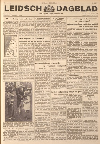 Leidsch Dagblad 1947-12-02