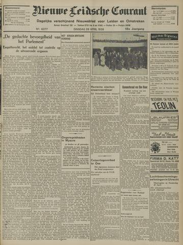 Nieuwe Leidsche Courant 1938-04-26